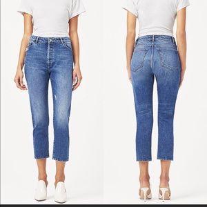 DL 1961 Bella Vintage Slim Cropped Jeans